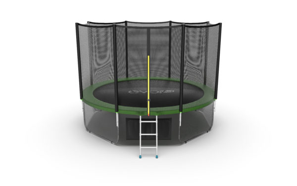Батут EVO JUMP External 12ft (Green, Blue) + Lower net
