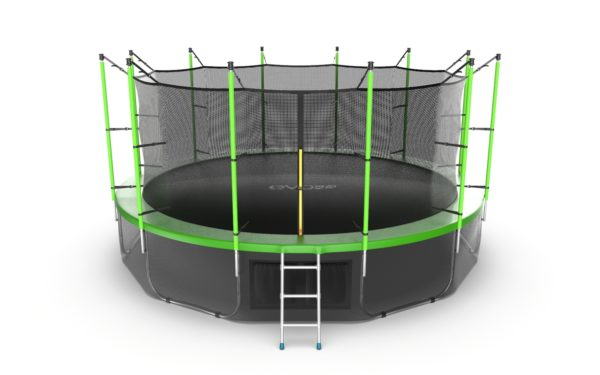 Батут EVO JUMP Internal 16ft (Green, Blue) + Lower net