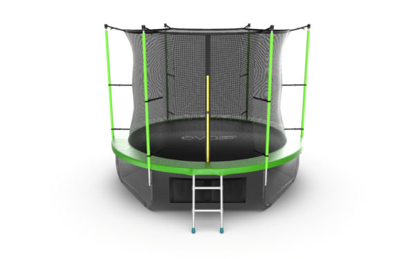 Батут EVO JUMP Internal 10ft (Green, Blue) + Lower net